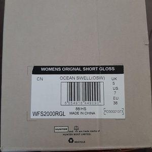 Hunter Shoes - Women's Hunter Original Short Gloss Rain Boot